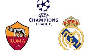 Champions League Roma vs Real Madrid