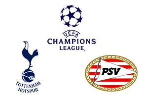 Champions League Tottenham vs PSV