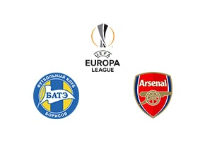 Europa League BATE Borisov vs Arsenal