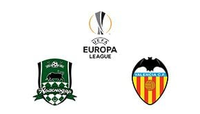Europa League FC Krasnodar vs Valencia