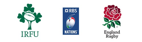 Six Nations Rugby Union Ireland vs England