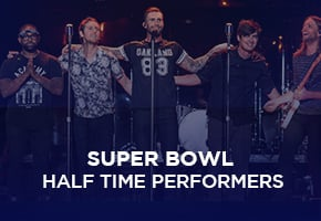Super Bowl Half Time Performers