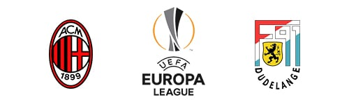 UEFA Europa League Milan vs Dudelange
