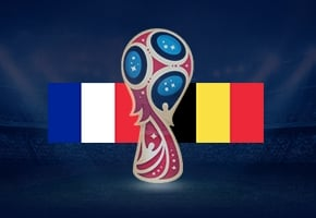 World Cup France vs Belgium