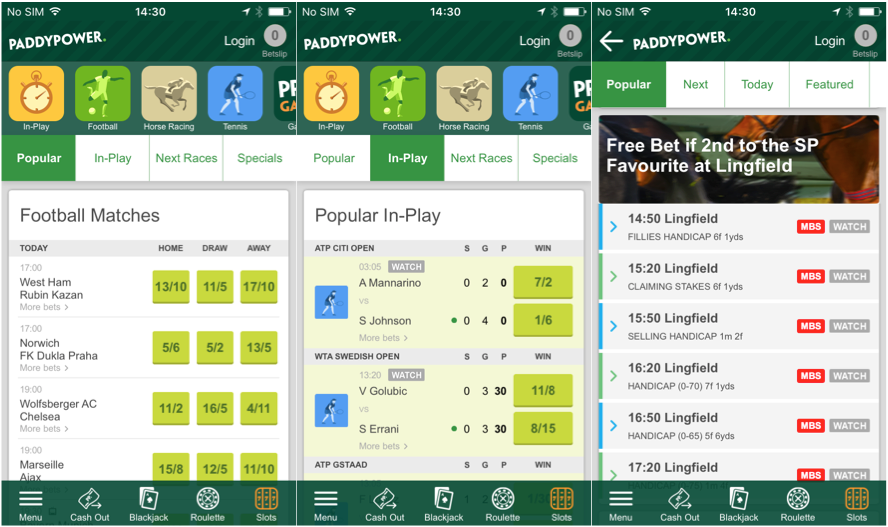 Paddy-Power-betting app