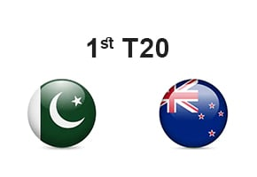 1st T20 Pakistan vs New Zealand