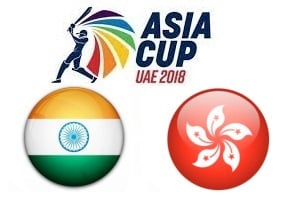 Asia Cup UAE 2018 India vs Hong Kong