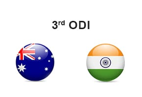 India Tour of Australia - Australia vs India 3rd ODI