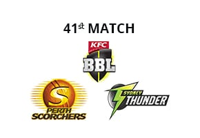 Prediction Perth Scorchers vs Sydney Thunder