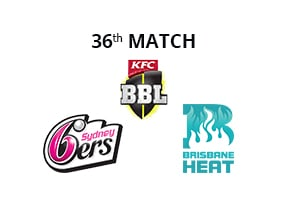 Prediction Sydney Sixers vs Brisbane Heat