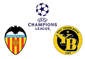 Champions League Valencia vs Young Boys