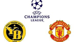 Champions League Young Boys vs Man United