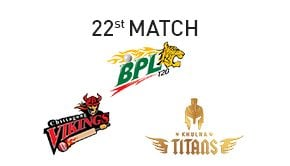 Prediction Chittagong Vikings vs Khulna Titans