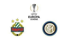 Europa League Rapid Wien vs Inter Milan