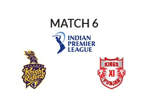 Prediction Kolkata Knight Riders vs Kings XI Punjab