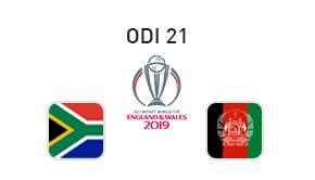 Prediction South Africa vs Afghanistan