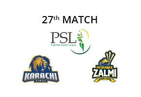 Predictions Karachi Kings vs Peshawar Zalmi
