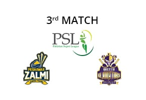 Prediction Peshawar Zalmi vs Quetta Gladiators