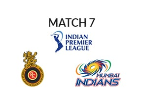 Prediction Royal Challengers Bangalore vs Mumbai Indians