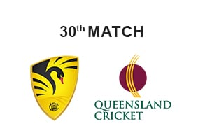 Prediction Western Australia vs Queensland 30th Match