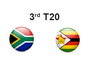 South Africa vs Zimbabwe, 3rd T20 Prediction
