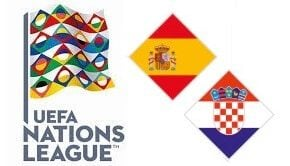 Spain vs Croatia UEFA Nations League