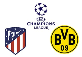Atlético vs Dortmund Champions League