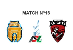 Kabul Zwanan vs Kandahar Knights Prediction