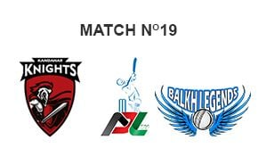 Prediction Balkh Legends vs Kandahar Knights