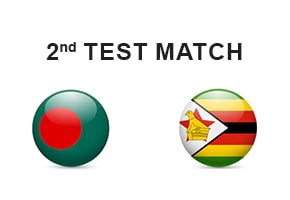 Bangladesh vs Zimbabwe 2nd Test Prediction