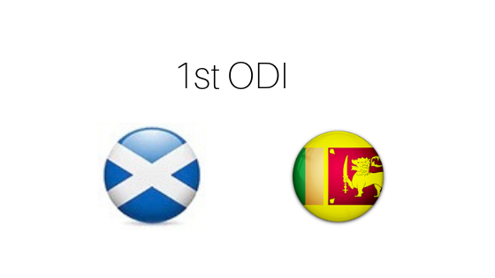 Prediction Scotland vs Sri Lanka