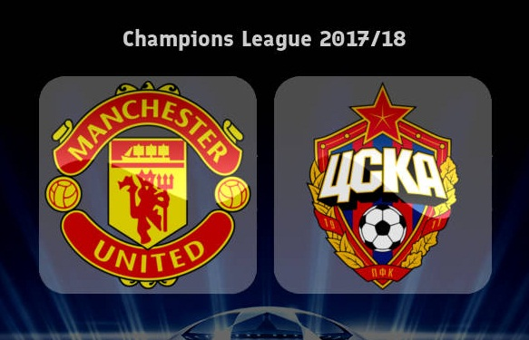 Manchester United vs CSKA Moscow