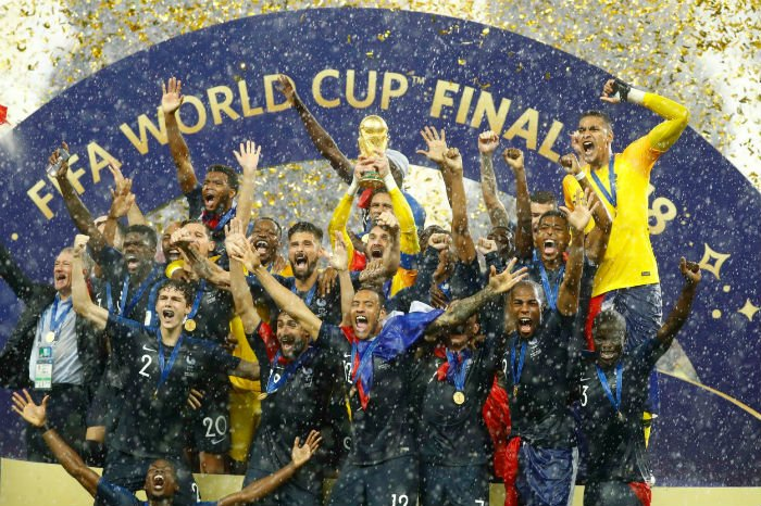 franch win the world cup