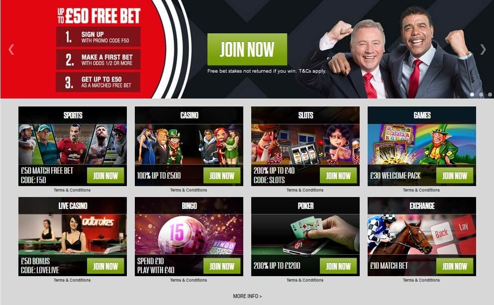 Ladbrokes screenshot ireland