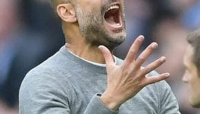 Pep Guardiola after lose