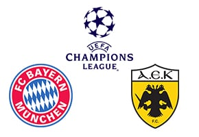 Champions League Bayern vs AEK