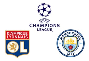Champions League Lyon vs Man. City