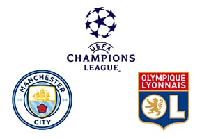 Champions League Man City vs Lyon