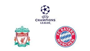 Champions League Round 16 Leg 1/2 Liverpool vs Bayern