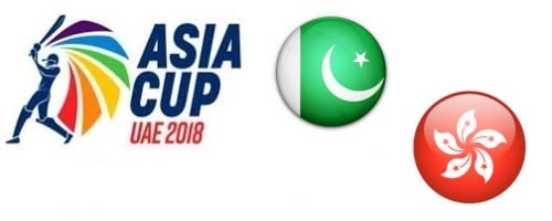 Asia Cup UAE 2018 Pakistan vs Hong Kong
