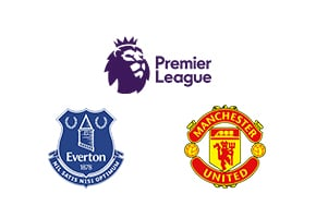 Premier League Everton vs Man Utd