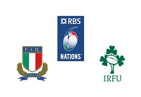 Six Nations Italy vs Ireland