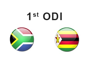 1st ODI South Africa vs Zimbabwe