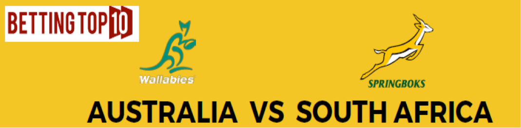 South Africa v Australia Rugby Championship Odds